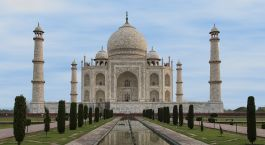 Photo Courtesy - Timothy Brooks; Taj Mahal