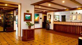 Reception at Hotel Bougainvillea in San José, Costa Rica
