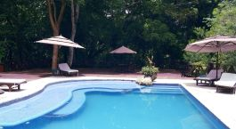 Enchanting Travels Guatemala Tours Tikal National Park Hotels Tikal Jungle Lodge Pool