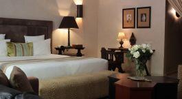 Double room at Villa Blanche in Agadir, Morocco