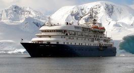 Enchanting Travels Antarctica Kreuzfahrt Außenansicht