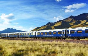 Luxury Train Ride in The Peruvian Andes