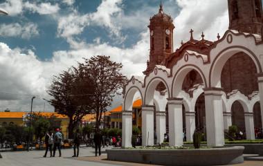 Enchanting Travels Bolivia Tours Center of the city of Potosi, Bolivia - History of Bolivia