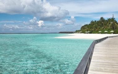 Schöner Strand auf Malediven