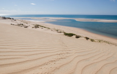 Powdered sugar beach in Nazaruto, Mozambique