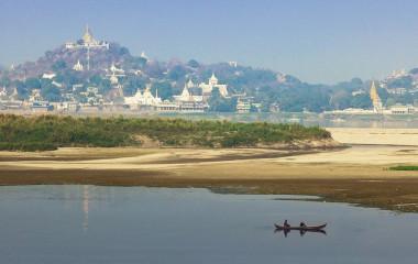 Aussicht auf Mandalay, Myanmar