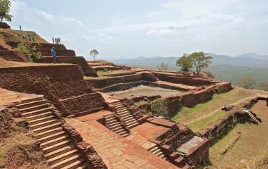 Beeindruckende Sigiriya Felsenfestung