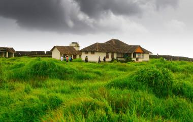 Bekal Fort in Kerala, Indien