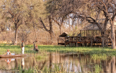 Enchanting Travels-Botswana Tours-Okavango Delta-Khwai Tented Camp-Exterior View