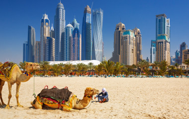 Strand in Dubai