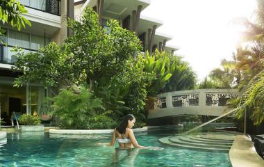 Pool at Sofitel Bali Nusa Dua Beach Resort Hotel in Nusa Dua, Indonesia