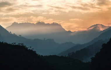 Enchanting Travels Guatemala Tours A sunset in Coban, Guatemala