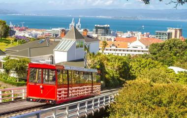 Enchanting Travels New Zealand Tours wellington cable car, new zealand