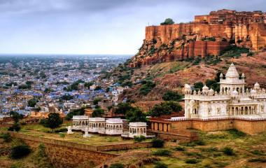 Enchanting Travels India tours Mehrangharh Fort , Jodhpur, India