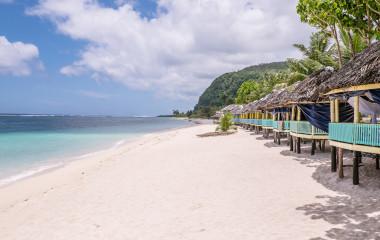 Lalomanu Strand, Upolu Island, Samoa Urlaub, Südpazifik