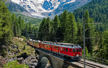 Things to do in Switzerland - train