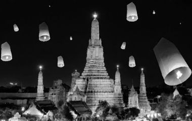 Floating Lanterns & Festival Fever In Thailand