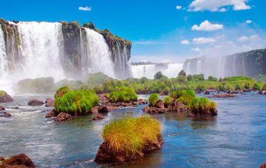 Naturwunder Wasserfälle Iguazu