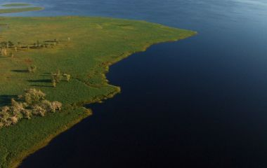 Mozambique safaris in Gorongosa National Park: bird's eye view