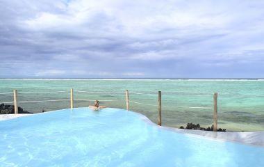 Pool at Matemwe Lodge Hotel in Zanazibar, Tanzania