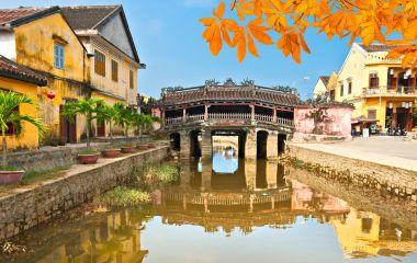 Enchanting Travels Vietnam Tours Japanese Bridge in Hoi An. Vietnam, Unesco World Heritage Site