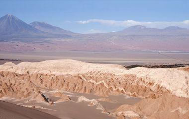 Eines der beliebtesten Chile Reiseziele ist die Atacama Wüste