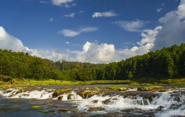 Ooty waterfalls, Tamil Nadu, South India, Asia