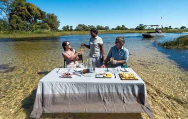 Breakfast at Okavango Delta