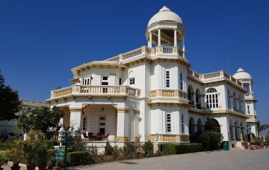 The balaram palace in the lap of nature