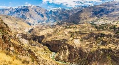 Colca Canyon - One of the top things to do in Peru