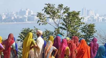 Meet residents in traditional dress on your India tour