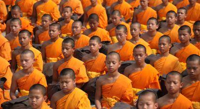 Thailand Reisetipps: Junge Mönche in Thailand