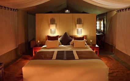 Room at Naboisho Camp, Masai Mara, Kenya