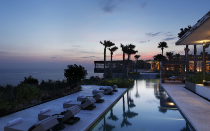 Enchanting Travels Indonesia Tours Uluwatu Hotels Aliva Villa Uluwatu pool