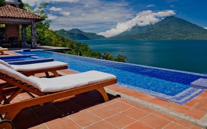 Casa palopo mit Blick auf den Atitlan See