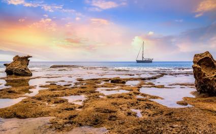 Sonnenuntergang auf Neil Island