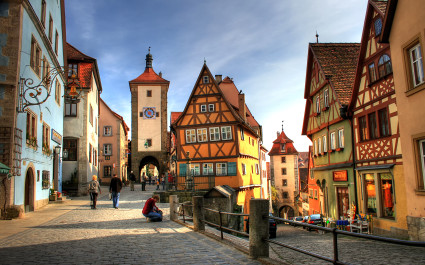 Rothenburg ob der Tauber, best road trips