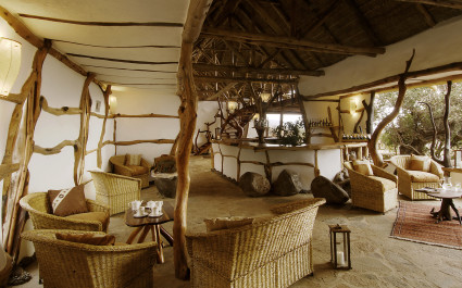 Enchanting Travels - Kenya Tours - Amboseli - Satao Elerai - The Lounge and Restaurant