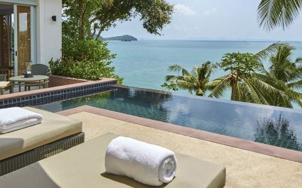Enchanting Travels Thailand Tours Amatara Wellness Resort - Ocean View Pool Villa exterior view