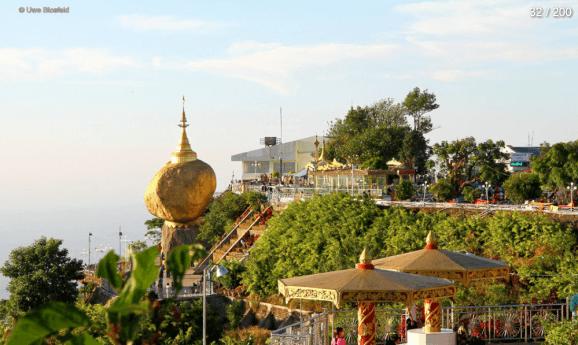 Myanmar Reisebericht - der goldene Fels
