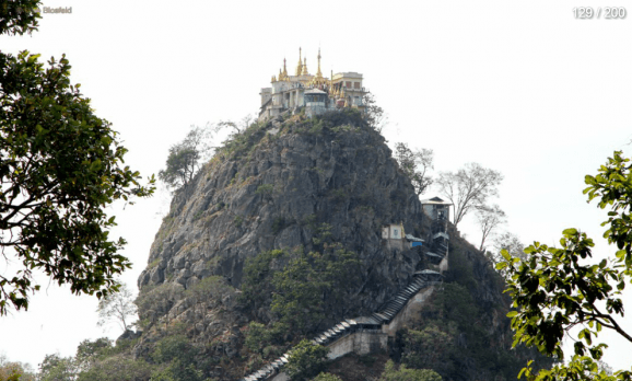 Myanmar Reisebericht - Mt. Popa