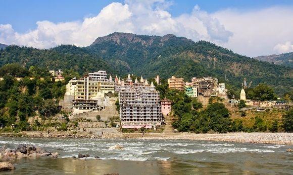 Rishikesh am Ganges Tak