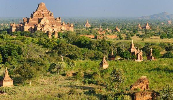 Myanmar (Burma), Bagan, Dhammayangyi Pahto , shutterstock_73026352