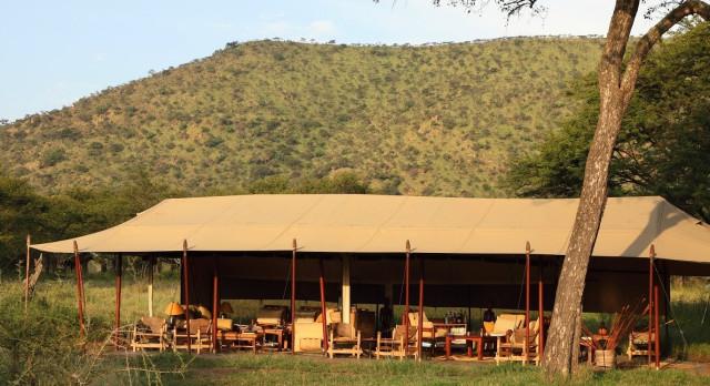 Exterior view at Dunia Camp C Serengeti (Central) in Tanzania