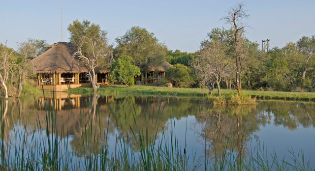 Exterior view at Camp Jabulani in Kruger, South Africa