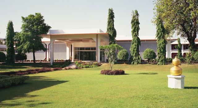 Enchanting Travels -North India Tours - Khajuraho - Hotel Chandela - exterior