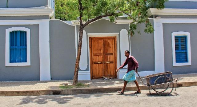 Französische Kolonialarchitektur in Pondicherry