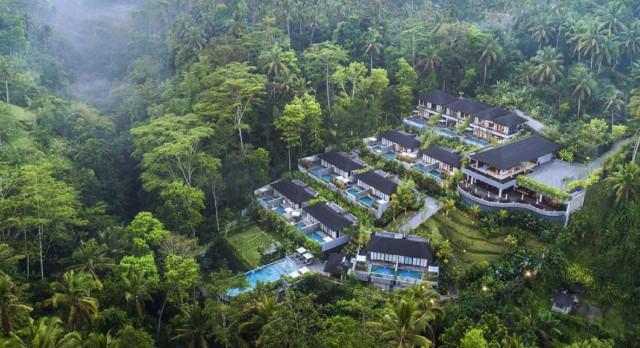 Overview of hotel Samsara Ubud, Indonesia