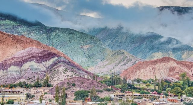 Argentina attractions - The Seven Colored Hills