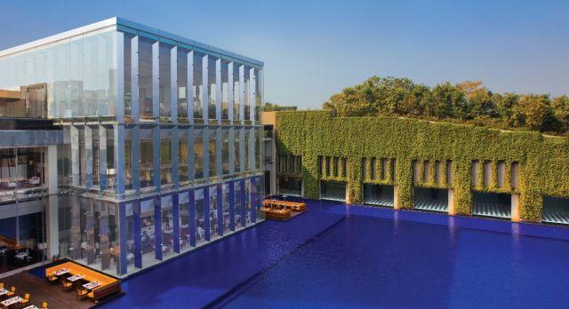 Außenansicht Oberoi Gurgaon Delhi